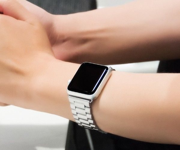 Stainless Steel Band For Apple Watch By Hoco Apple Watch Silver Apple Watch Fashion Apple Watch Accessories