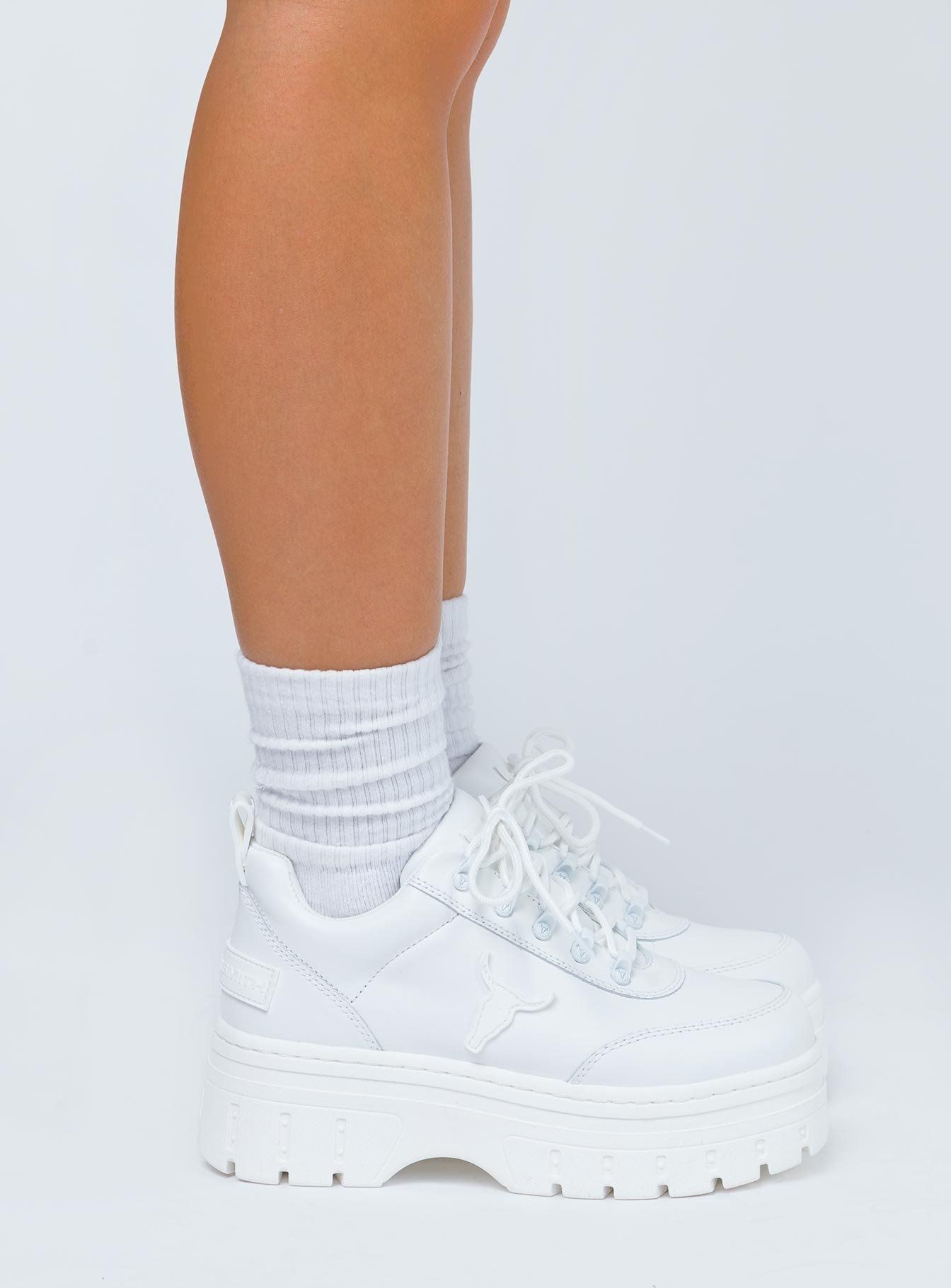 Windsor Smith Lux Sneakers White - US 7