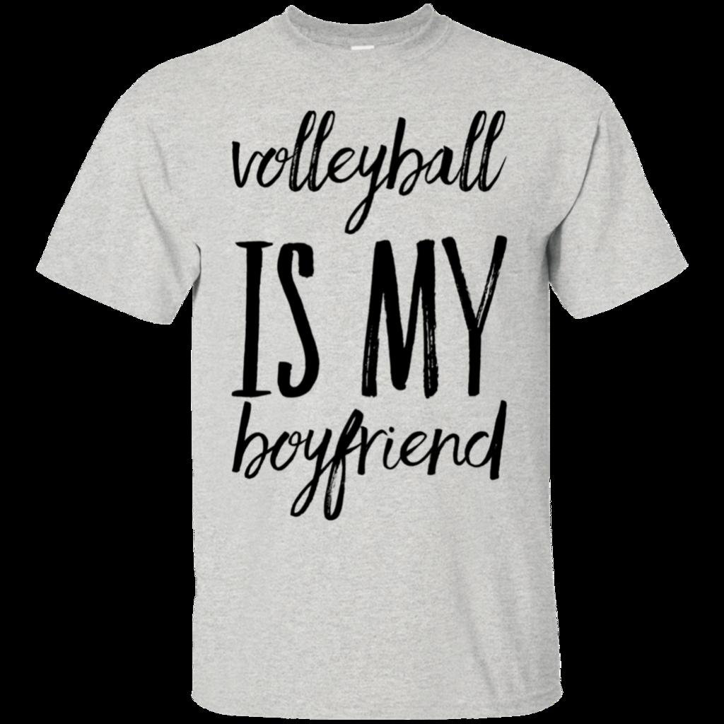 Volleyball Is My Boyfriend T Shirt Boyfriend T Shirt Funny Outfits Shirts