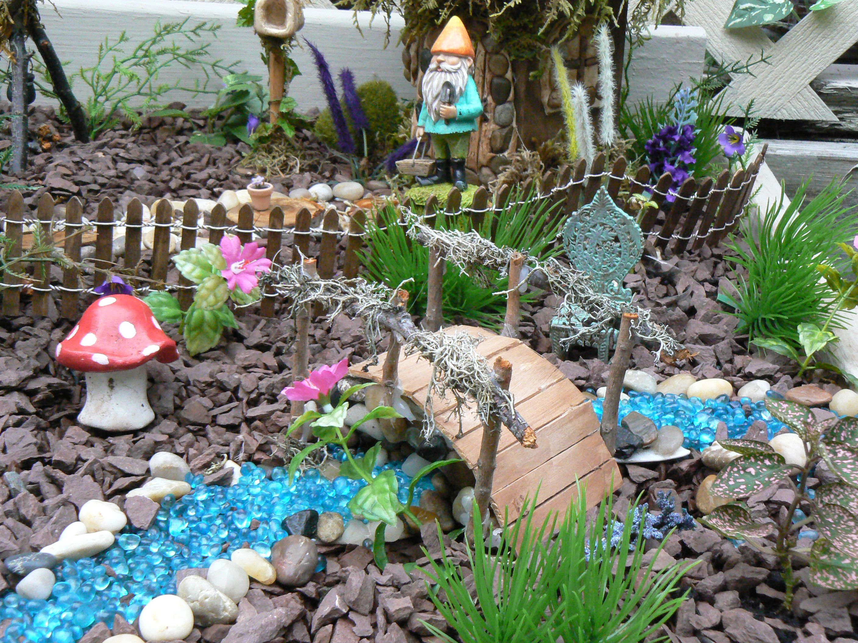 Attractive My Enchanted Fairy Garden!