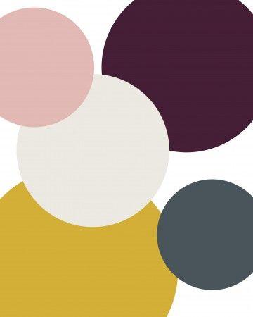 Yellow, Gray, Pink, and Chocolate | Martha Stewart Weddings