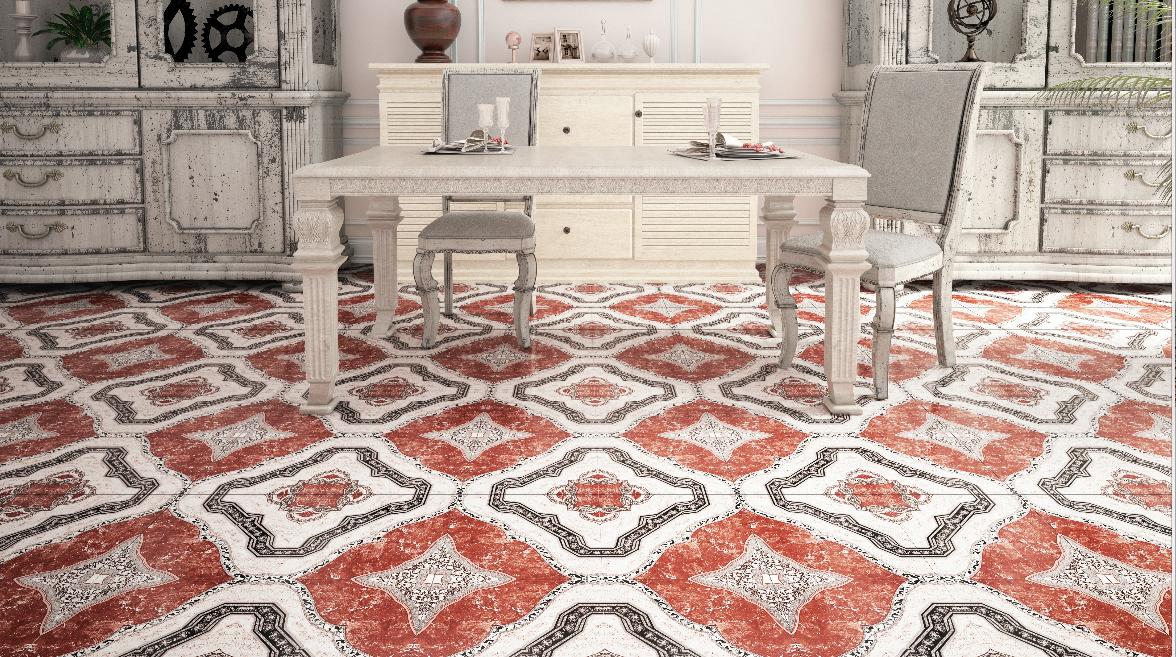 Morazan, retro, naranja, decorados muebles blancos vintage comedor ...