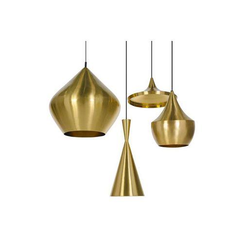 Beat Guld Pendel Lampe Belysning Kontorindretning Haengelamper Lampe Tom Dixon