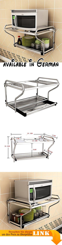 B078WPZX2T : L&Y Kitchen furniture Edelstahl Mikrowelle Ofen Rack ...