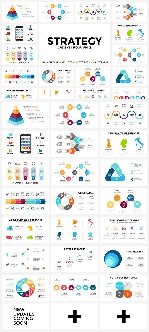 strategy - free updates. presentation templates | page | pinterest, Strategy Presentation Templates Free, Powerpoint templates