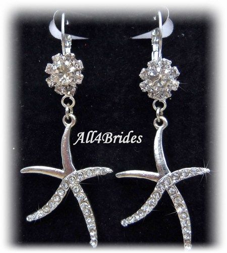 Beach Wedding Jewelry Sets For Brides Earrings Bridal Starfish