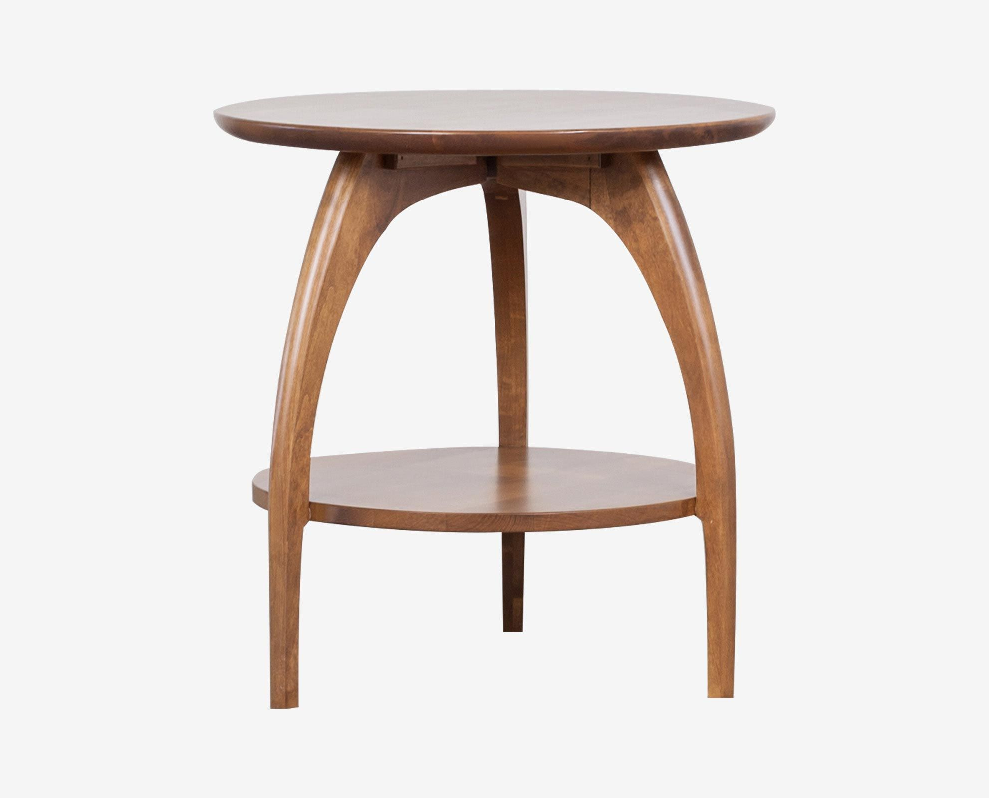 Table Scenic Tibro Round End Table Accent Tables Scandinavian