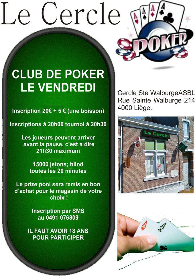 Le cercle, club de poker