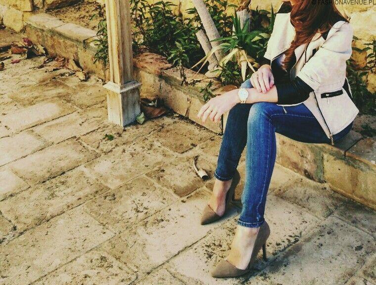 Sandaly Japonki Klapki Ozdobione Lancuszkiem 9821 Model Jeans