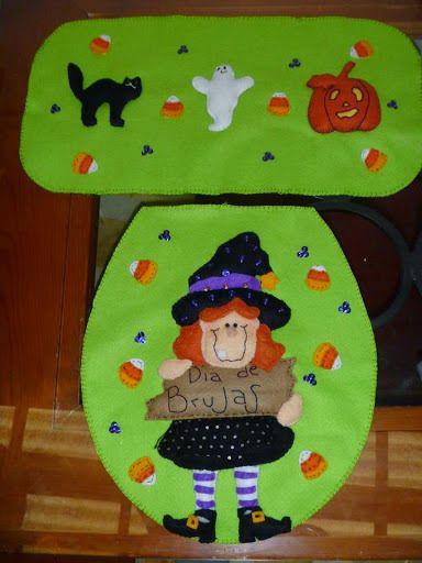 CERRADOSERA Q HACEMOS UN INTERCAMBIO??? LEER POST 1 Halloween - halloween bathroom sets
