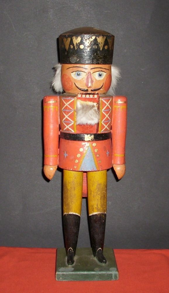 Unbekannt Nussknacker Zinnsoldat Vintage