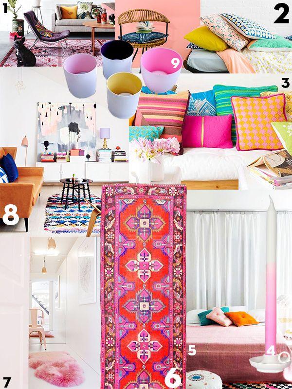 Interieurtrend: Tipje kleur - Residence