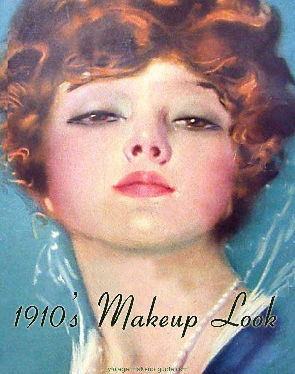 Vintage Makeup Guide Image Gallery