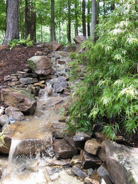 63 relajante jardín y patio trasero Cascadas DigsDigs Fuentes y