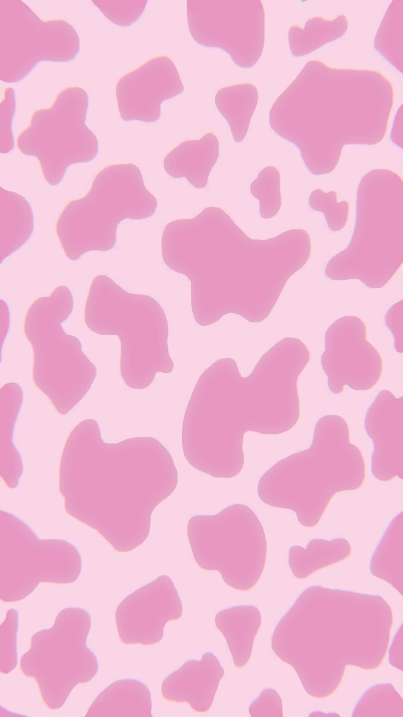 Pink Cow Print Alisakolesnyk Wallpaper Cow Pink In Cow Print Wallpaper Cute Patterns Wallpaper Edgy Wallpaper