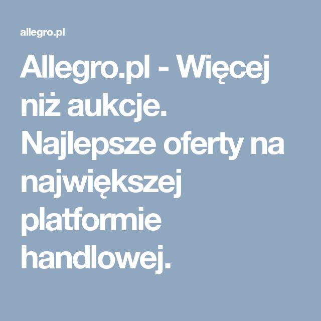 Allegro Pl Wiecej Niz Aukcje Najlepsze Oferty Na Najwiekszej Platformie Handlowej Vintage Clock