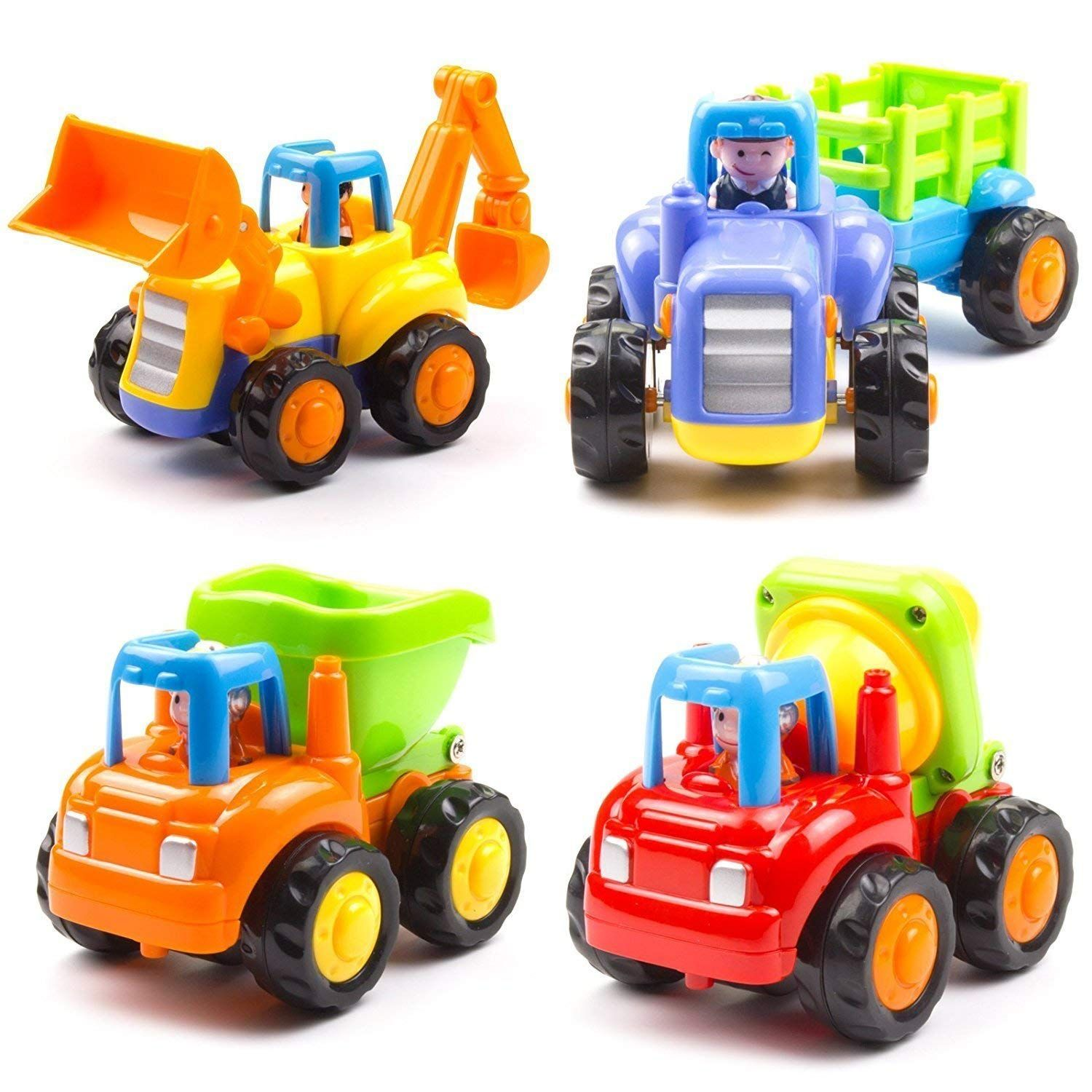 Toyshine Sunshine Unbreakable Automobile Car Toy Set Toy Car Kids Gift Sets Baby Toddler Toys