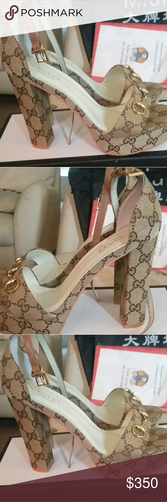 80354811483e Iconic gucci sandal Beautiful gucci monogram sandal more pictures feel free  to go over to my ig   fashionfloozies. These wear bought from gucci and all  ...