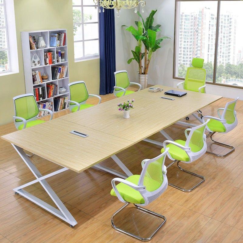 Hottest Modular Cheap Meeting Furniture Modern Meeting Metal Desks Office Meja Kantor Kantor Rumah Rumah