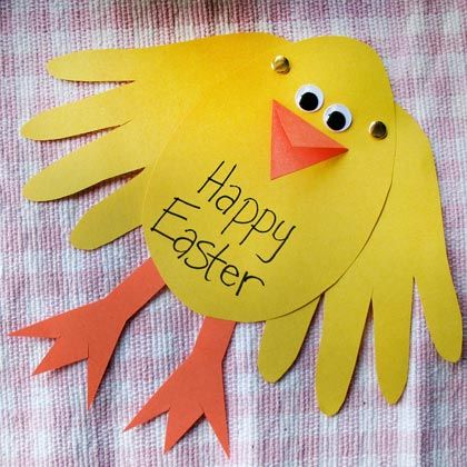 Easter Chick Card | Crafts | Spoonful