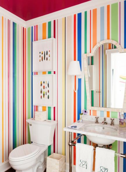Chairish For Chic And Unique Homes Bathroom Wall Decor Bathroom Wall Art Powder Room Design