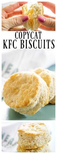 Copycat KFC Biscuits & BEST Breads, Scones & Biscuits Recipes