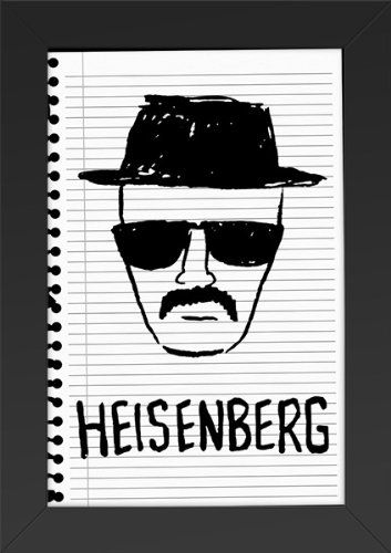 11x17 FRAMED Poster Print Breaking Bad Heisenberg Poster Print ...
