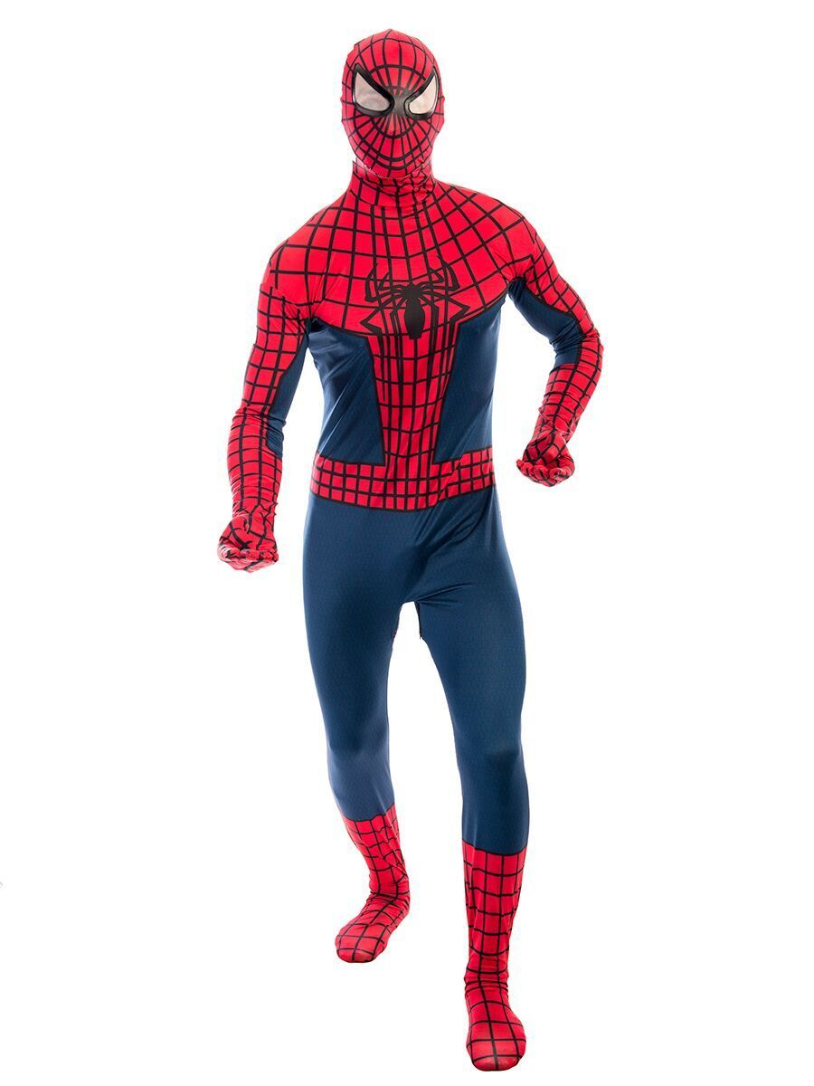 This Spiderman costume for hire will make you as quick as a spider! This cool  sc 1 st  Pinterest & Spiderman Male Costume - | Spiderman costume Spiderman and Male ...