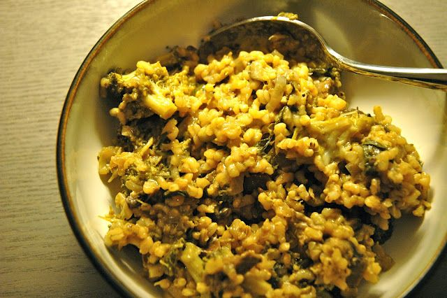 High Heels City Streets: Tastes Like Fall: Mushroom Risotto with Greens