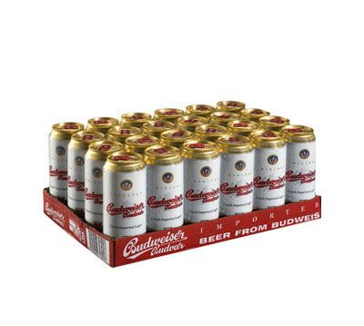 Bia Budweiser Budvar Dark 4,7% - Lon 500ml