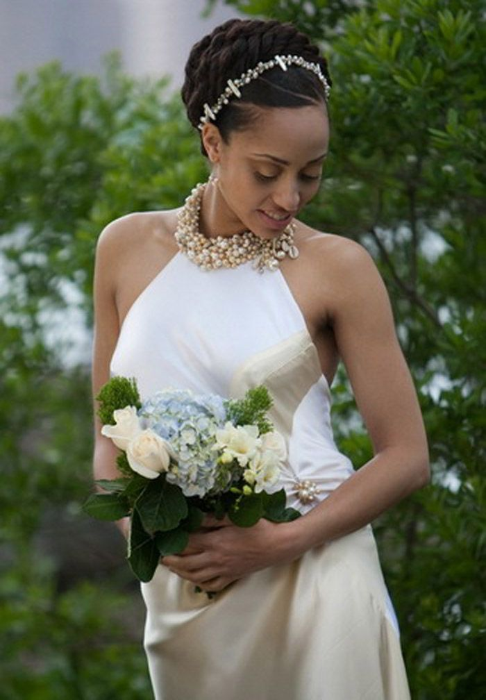 Wedding Updo Hairstyles for Black Women | Short wedding ...