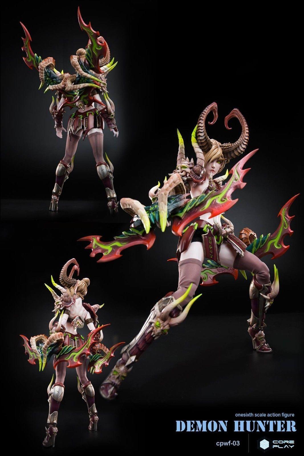 16 scale anime coreplay demon hunter female action figure