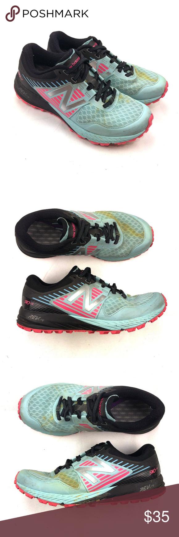 New Balance 910v4 Womens Trail Running Shoes Sz6.5