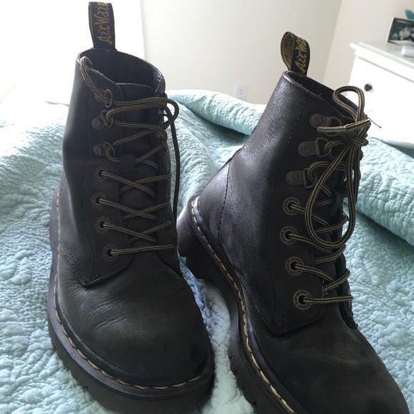 Matte Black Doctor Martens | Boots, New