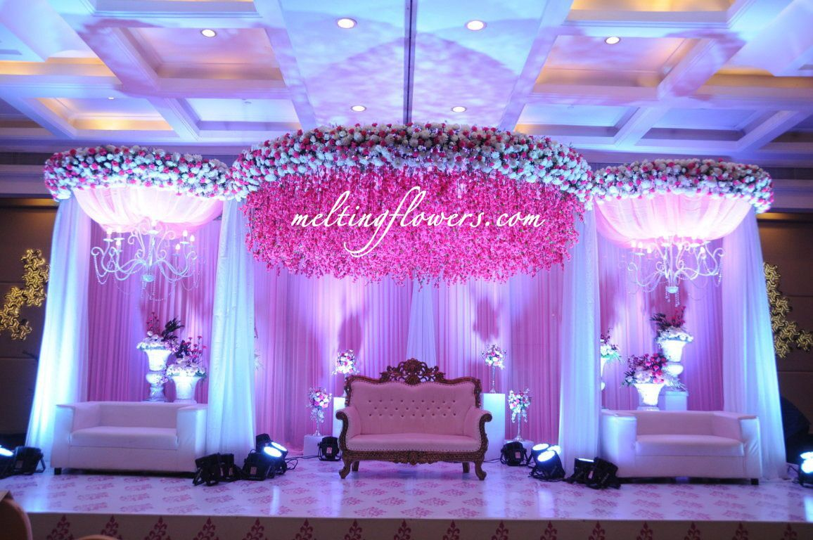 wedding stage decoration pics%0A     best Theme Wedding Decorations images on Pinterest   Flower decorations   Marriage decoration and Flower decoration