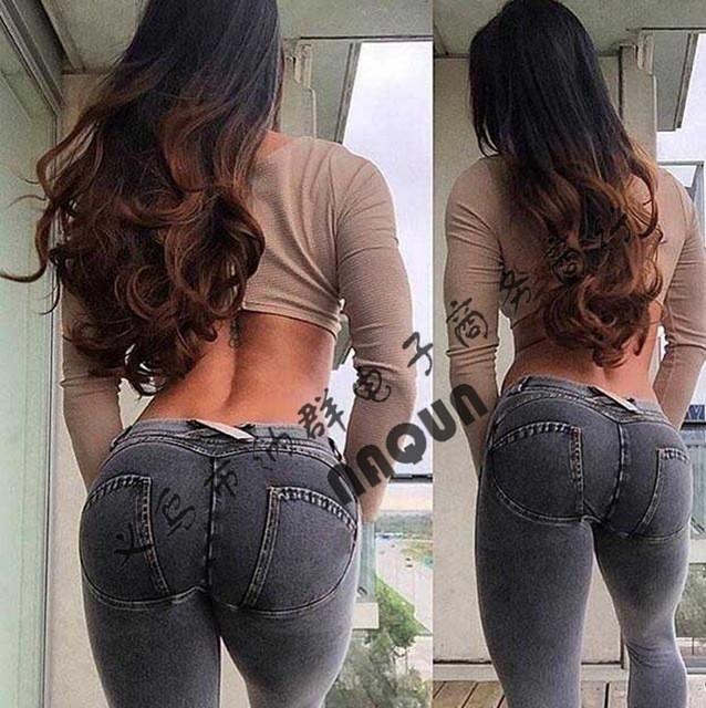 5c62d94ab3c Item Type  Jeans Gender  Women Model Number  QT01 Fabric Type  Softener  Length  Full Length Brand Name  xivitype Decoration  Button