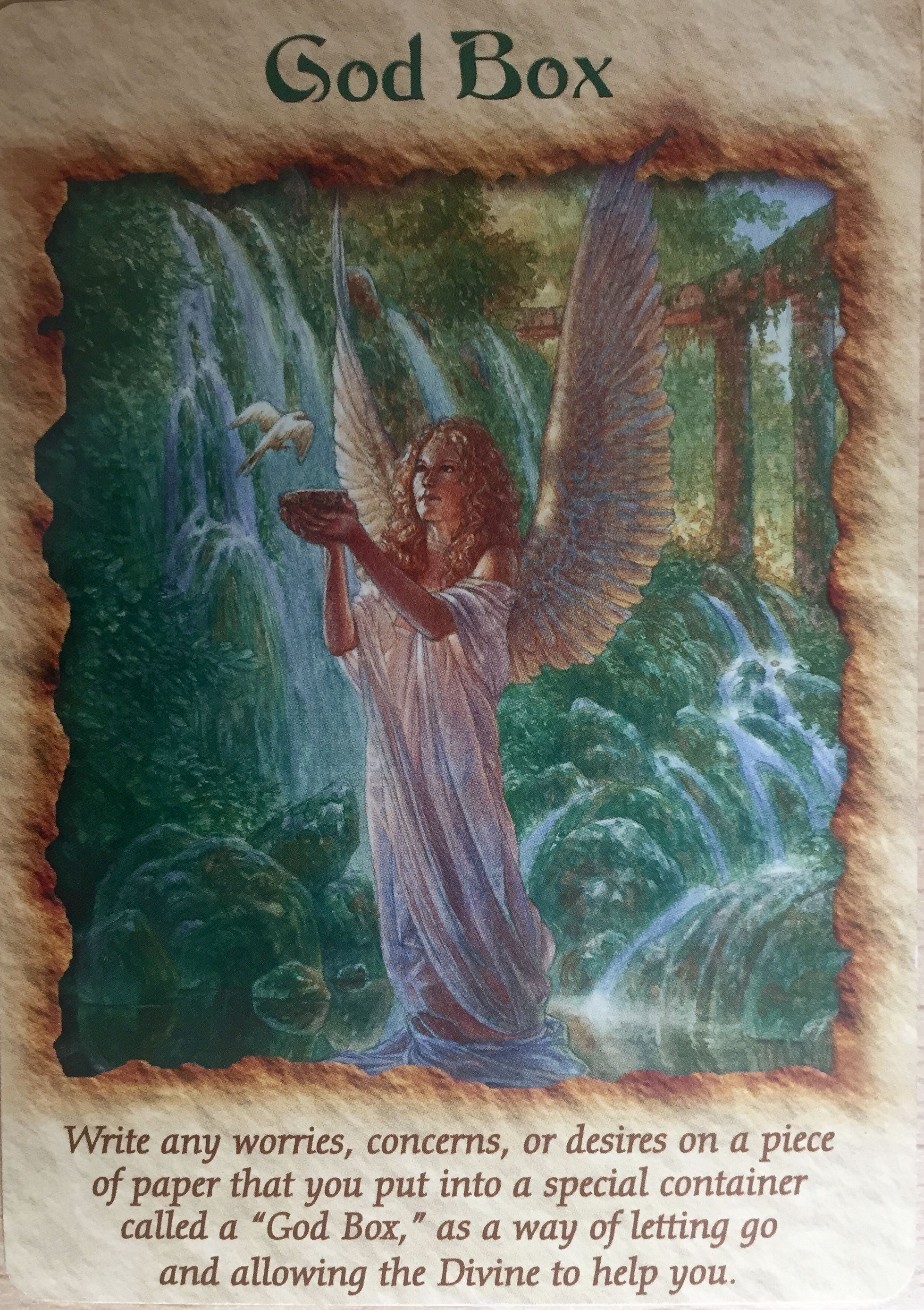 Angel Spirit guide Tarot box