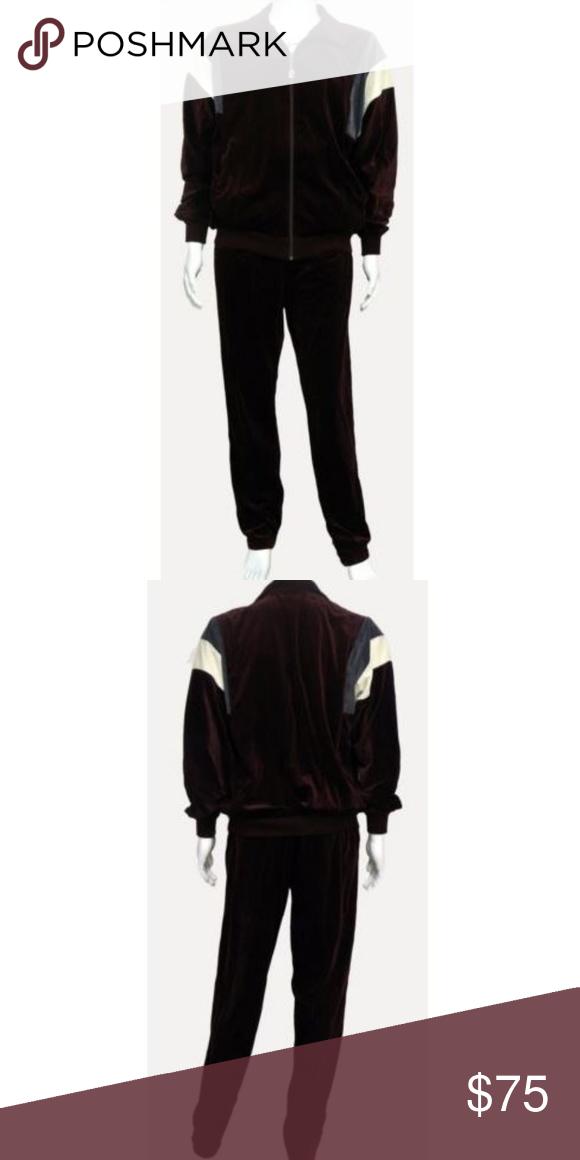 Pierre Cardin Men S 80 S Track Suit New Vintage 80 S Pierre Cardin 2 Piece Velour Track Suit Men S L Jacket 46 Ches Vintage Tracksuit Track Suit Men Tracksuit