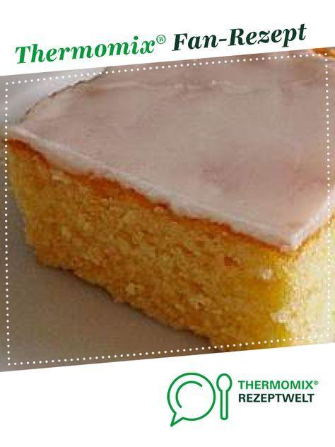 Zitronenkuchen fürs Blech #savourycake