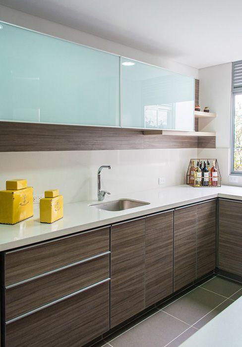Pin de Jorge Buadas en cocinas pequeñas Pinterest Cocinas - Cocinas Integrales Blancas