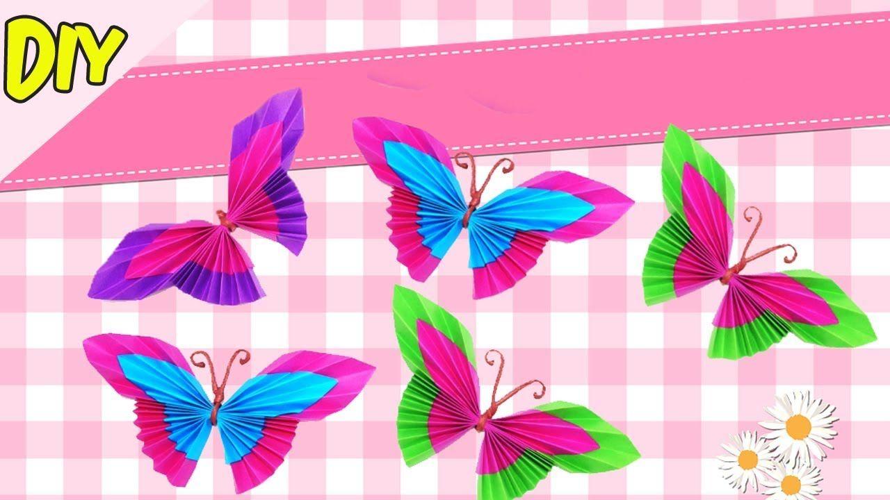 Cara Membuat Origami Kupu Kupu Cantik Dan Lucu Ragam Kerajinan