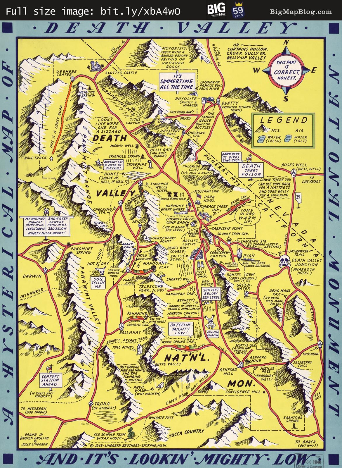Pin by Mike D on Cartography | Pinterest | Map, Death valley and ...