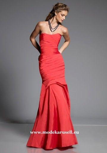 Rotes Elegantes Meerjungfrau Abendkleid Online | günstige ...