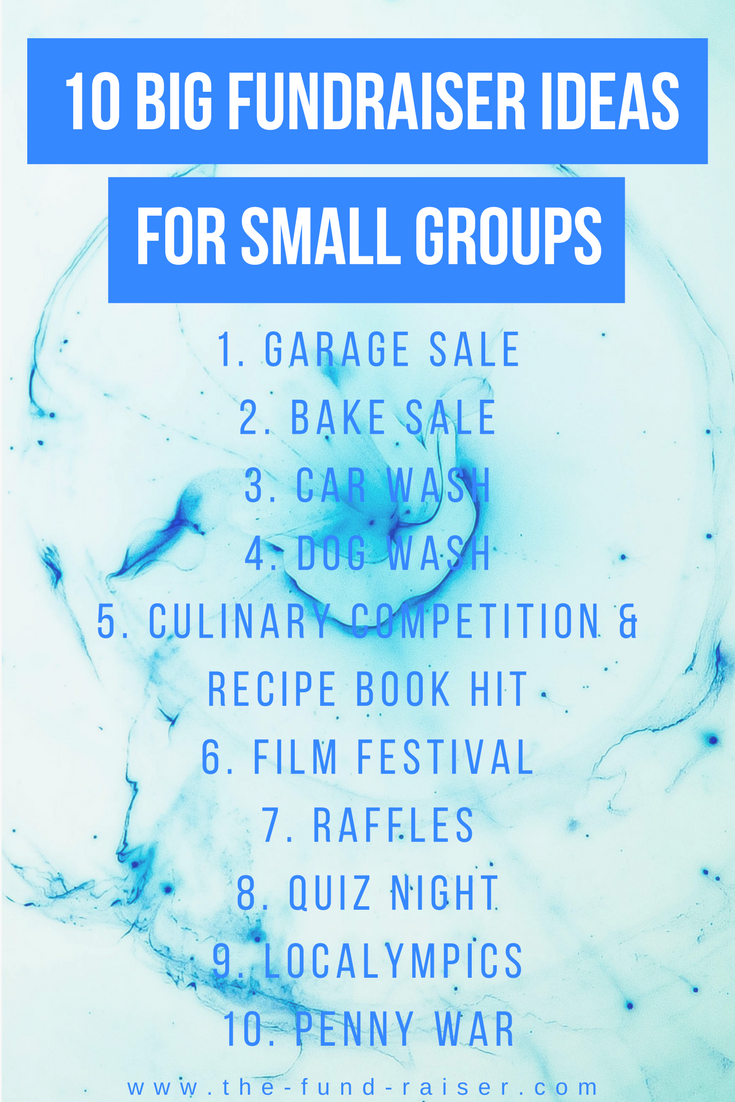 Non-profits and small business continuously ask the same ... |Small Fundraising Event Ideas