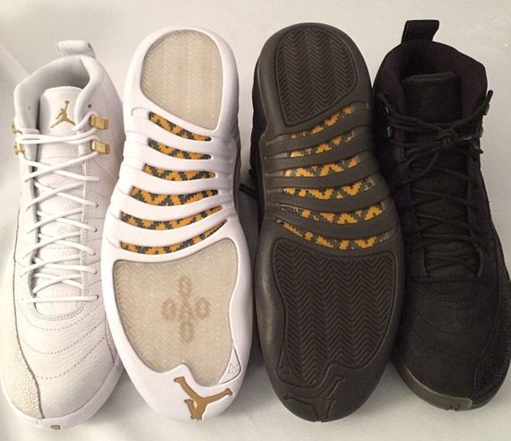 35aba70af7ab39 air jordan 12 ovo drake stingray Air Jordan 12 OVO Stingray for Drake