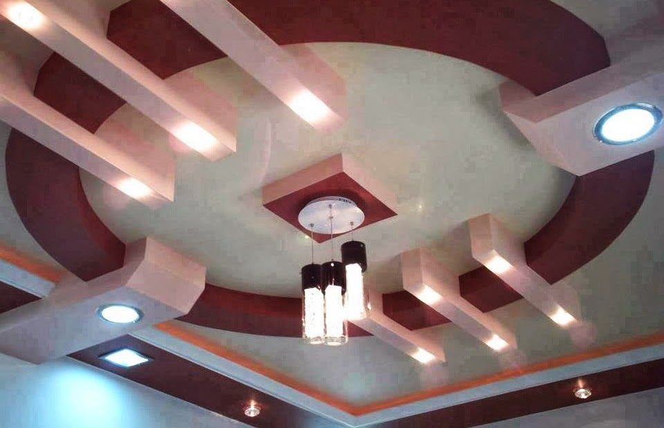 Http maroc for Photo decoration plafond platre