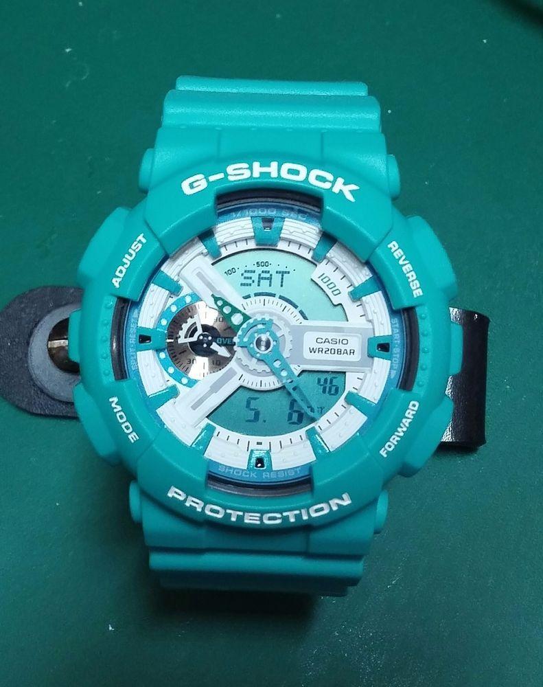 Genuine Casio G Shock Ga 110sn 3a Breezy Colors Teal