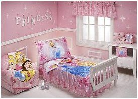 Little Girl Room Ideas Decorating A Disney Princess Themed - Disney princess girls bedroom ideas