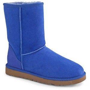 6ee10d17e3e Ugg Womens Classic Short Deep Periwinkle Blue Boots | Landau Store ...