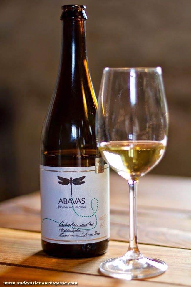 Wine touring in Latvia: Abavas